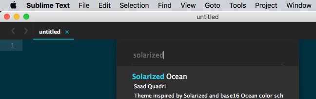 Sublime Text Install Theme Colorsublime Solarized Ocean